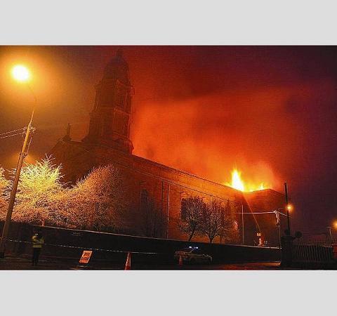 Katedra w ogniu
