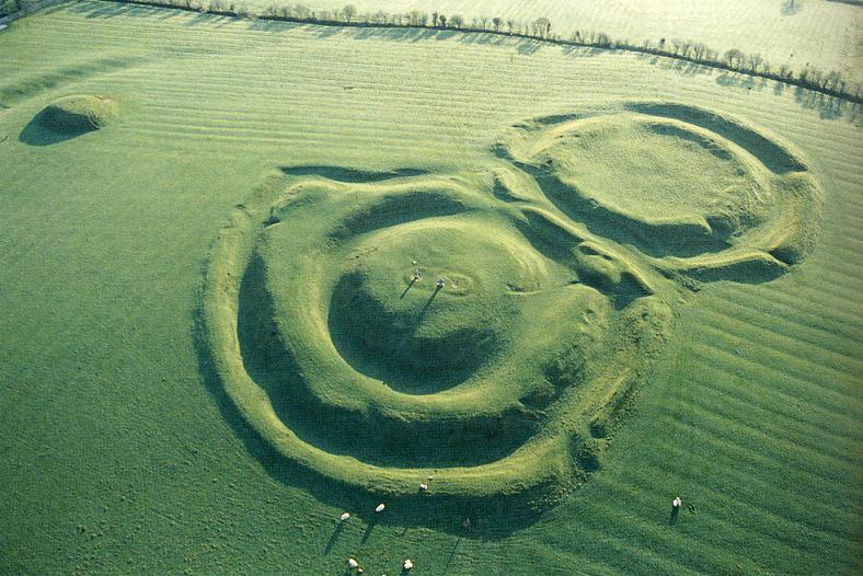 Hill of Tara z lotu ptaka