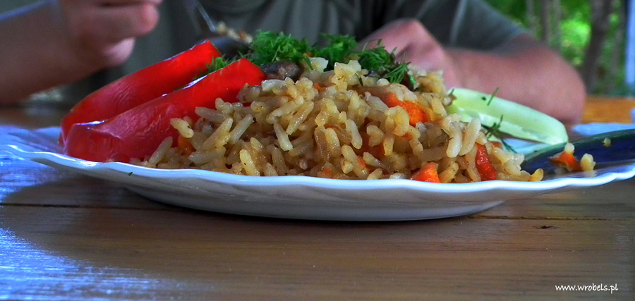 Jeden z lepszych momentów kulinarnych jakie dane nam było przeżyć na Krymie :)