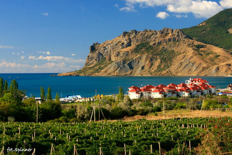 Winnice, domki turystyczne, zatoka, Karadah...