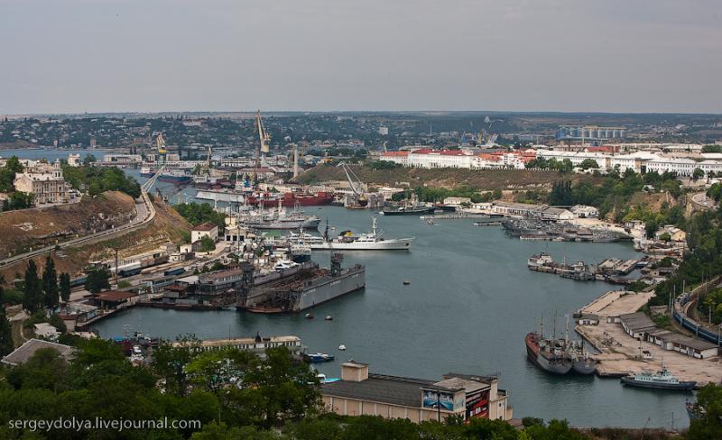 Port w Sevastopolu