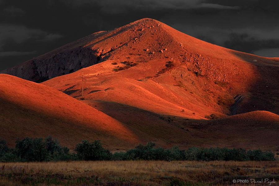koktebel góry o wschodzie słońca