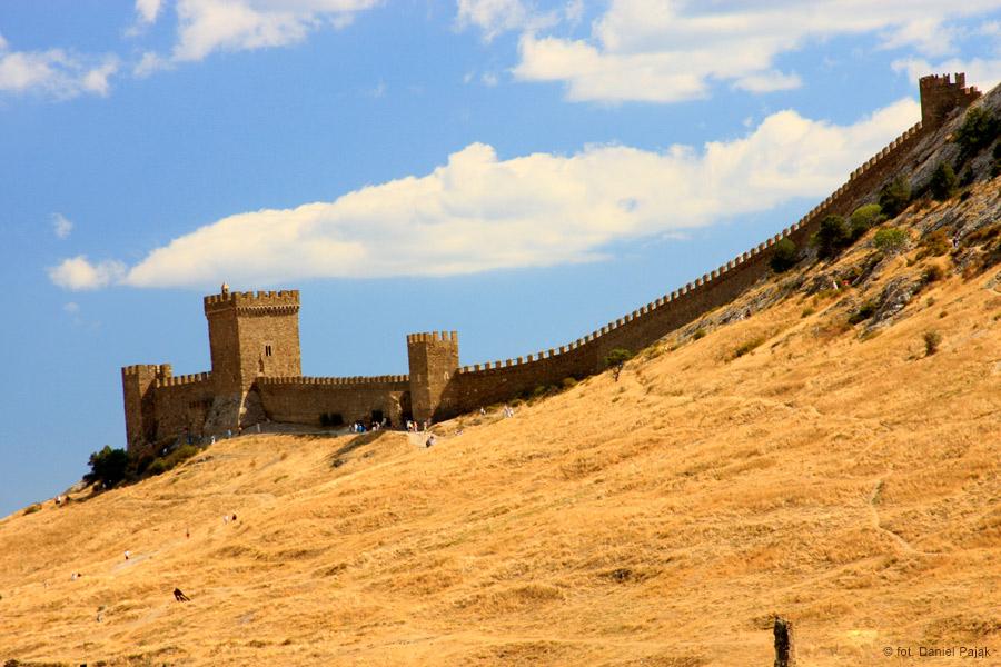 Mur obronny w twierdzy