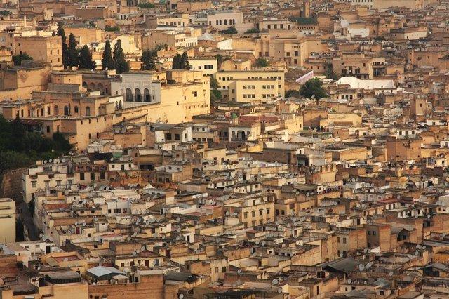 Panorama Starego Miasta w Fez / fot. kolumber.pl