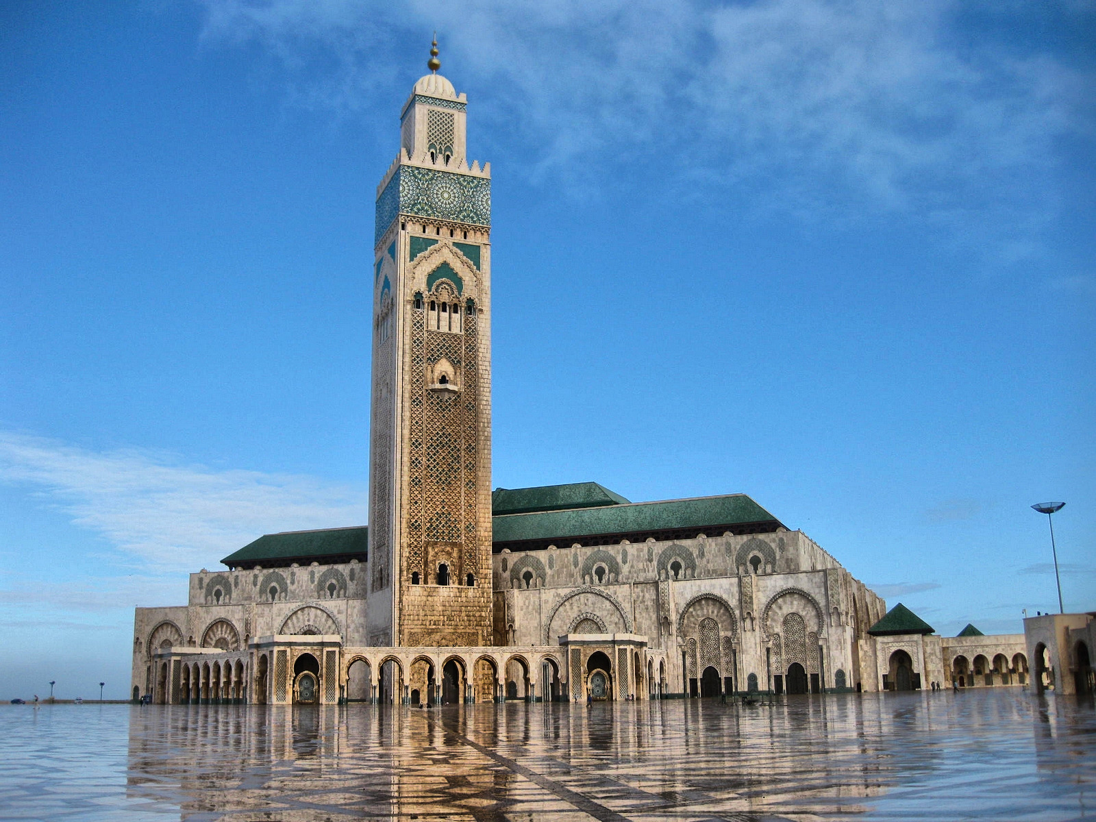 Monumentalny Meczet Hasana II