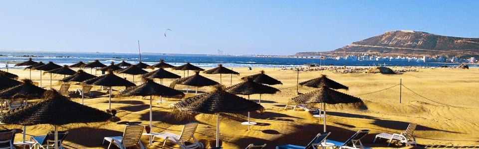 Jedna z wielu plaż w Agadirze / fot. lti.de