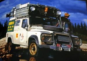 Dzielny Land-Rover