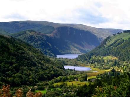 Wspaniały krajobraz Doliny Glendalough / fot. www.wicklowadventurerace.com