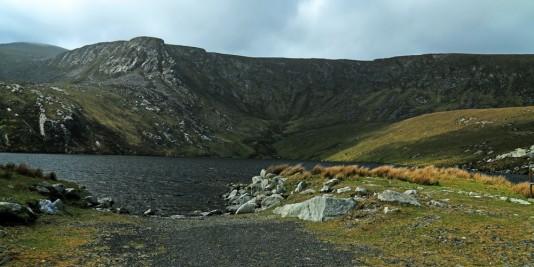 Jezioro Accorymore i Góra, z której schodziliśmy