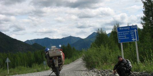 Droga w kierunku Magadanu /fot. www.scigacz.pl