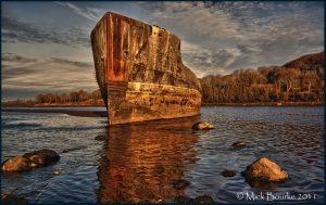 The Creteboom, słynny statek na Rzece Moy /fot. Mick Bourne