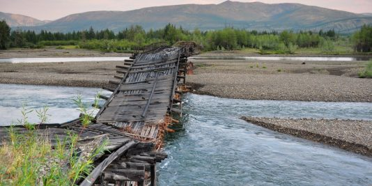 Rzeczywistość infrastrukturalna Kołymy /fot. www.transsiberianhighway.wordpress.com