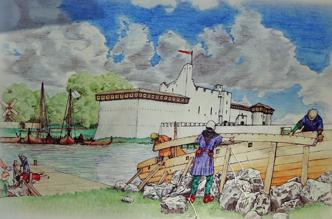 Gwarny port - jedno z serc miasta